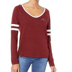 NWT Roxy Women's Lets Do That Long Sleeve T-Shirt